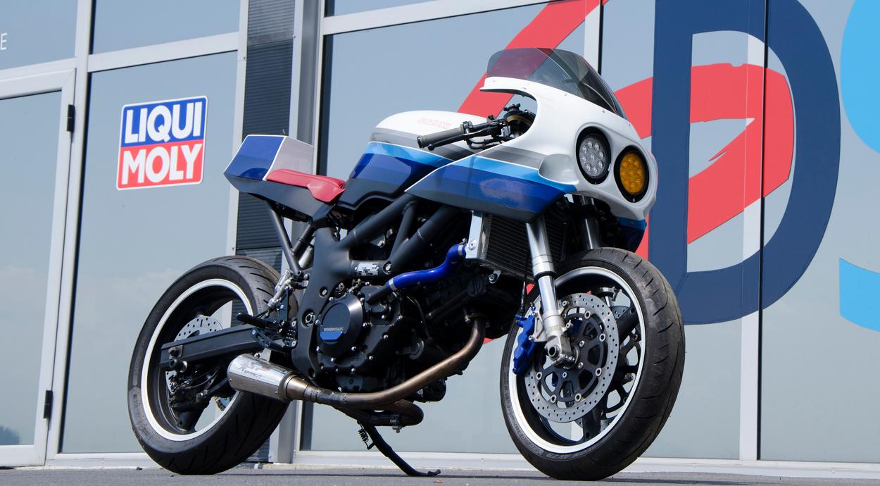 Endurance Racer Suzuki Sv650 Caballo De Hierro Bikebound