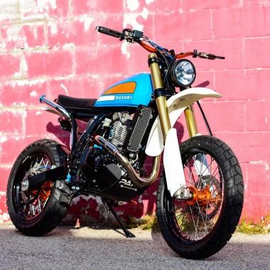 Suzuki DR650 Urban scrambler