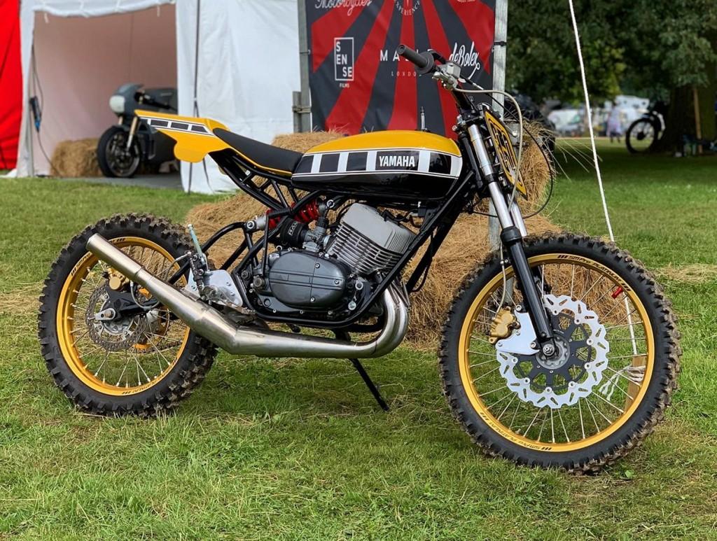 Yamaha RD350 Scrambler Dirt Bike