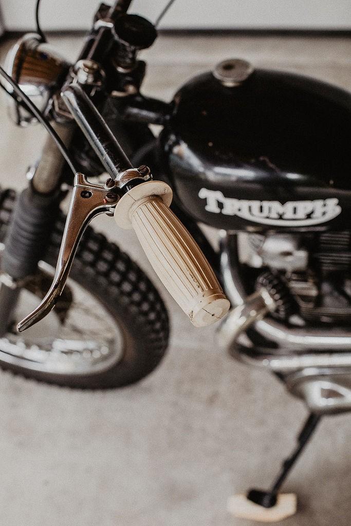 Triumph TR5 Trophy Desert Sled