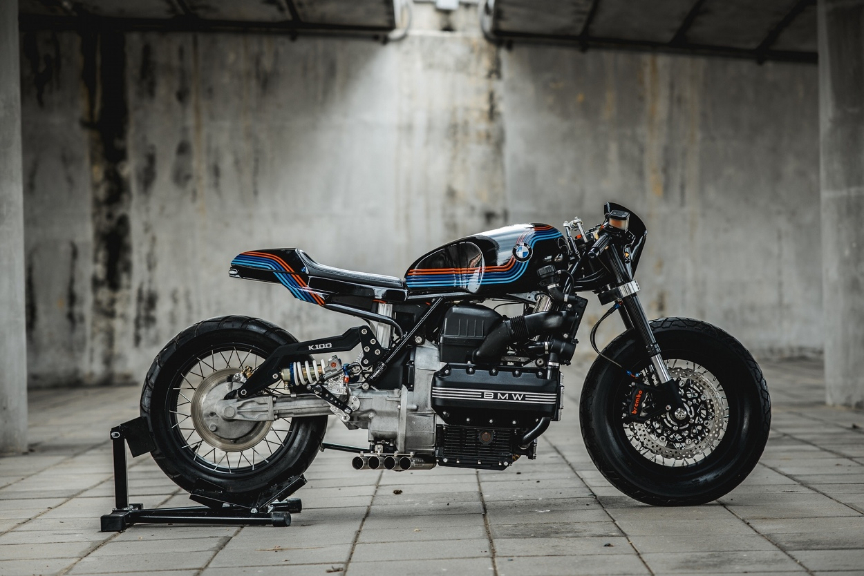 Bmw K100 Apollo By Ruby Cafe Bikebound
