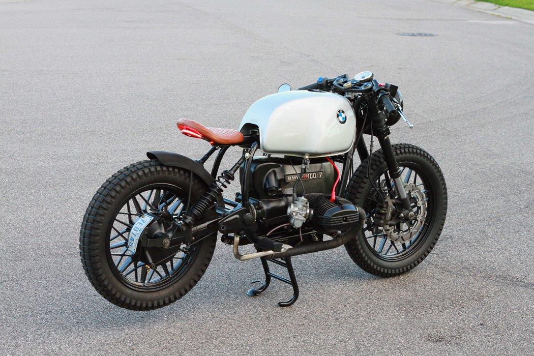 Bmw R100 Cafe Bobber By Magnum Opus Bikebound