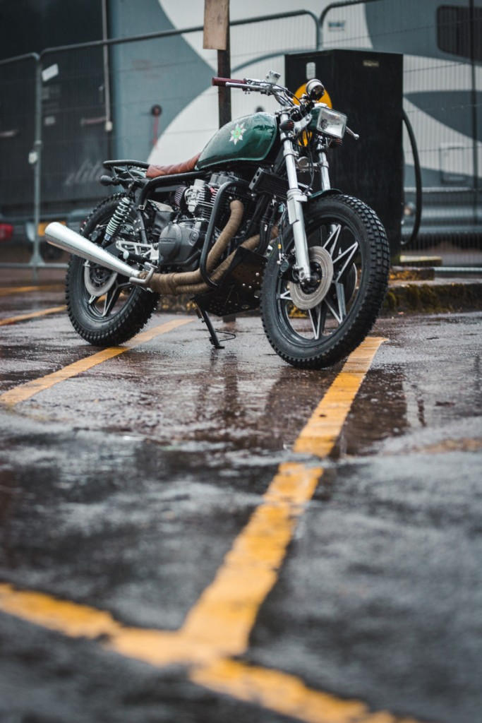 Honda CB450DX Scrambler