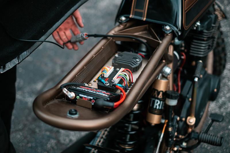 Yamaha XS500 Scrambler