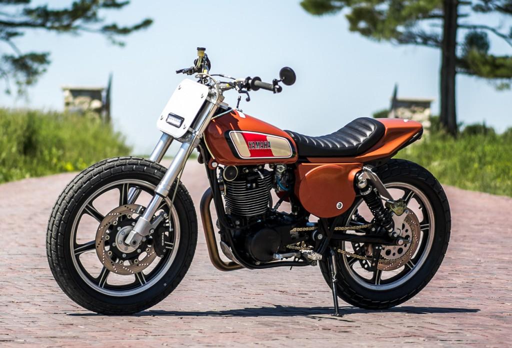Yamaha XT500 Street Tracker