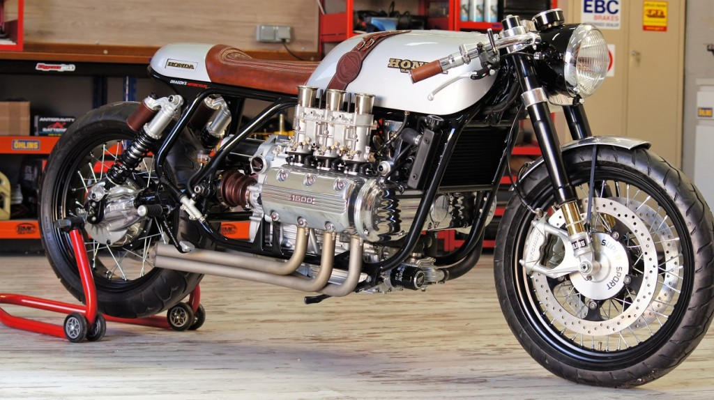 Honda Goldwing GL1000 Cafe Racer