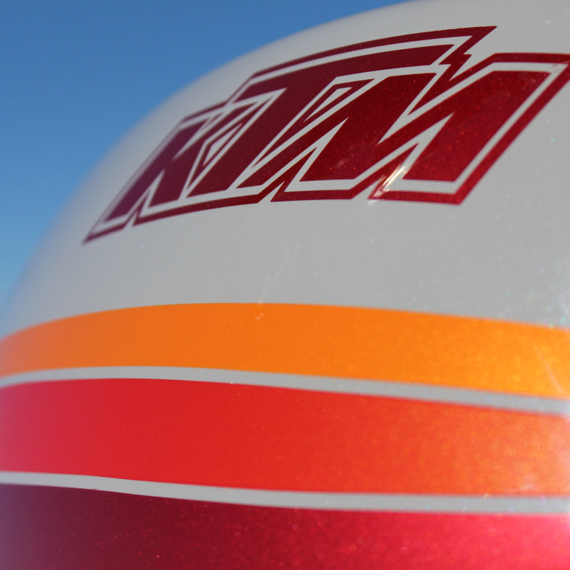 KTM 640 Duke Street Tracker