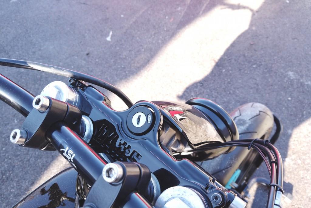 Suzuki DR650 Tracker / Cafe Racer