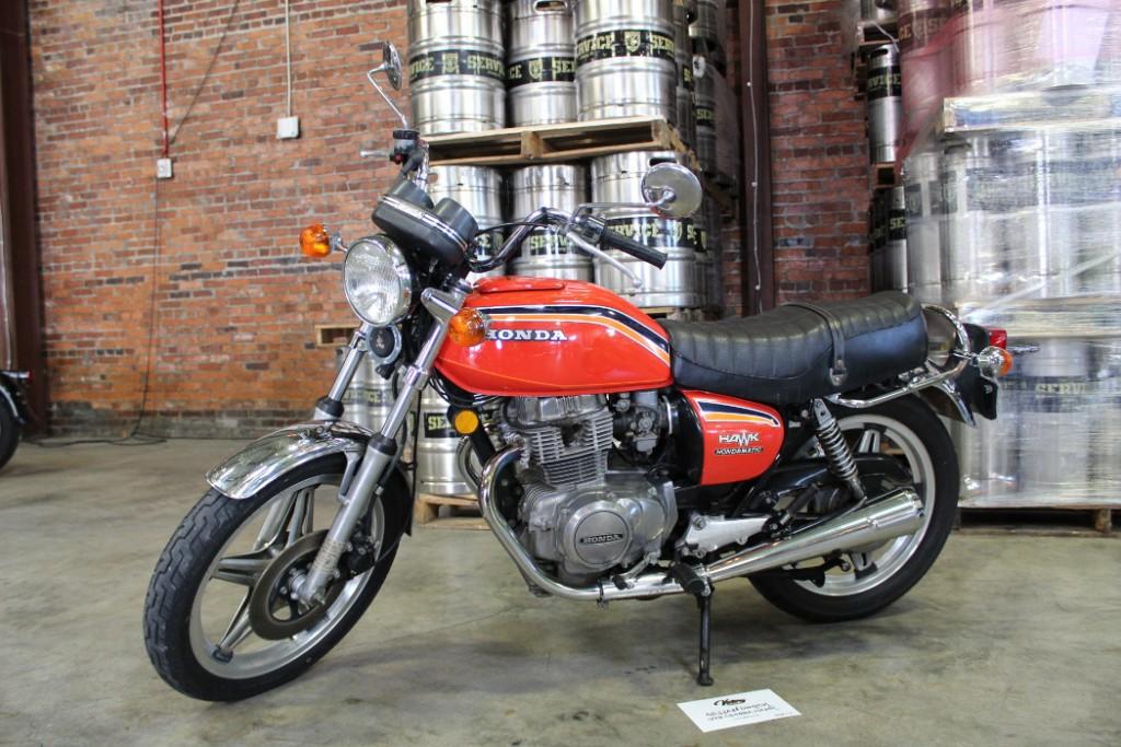 1978 Honda CB400A from Gillian Dimick