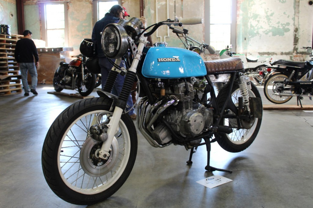 1972 Honda CB350F by Kevin Swiney.