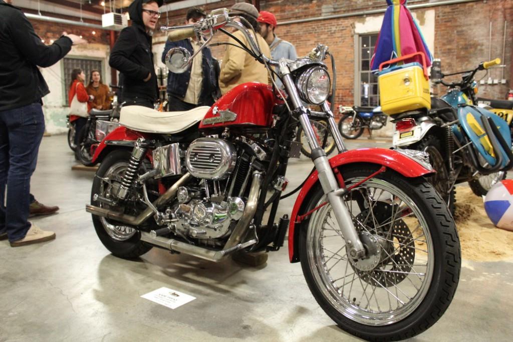1972 Harley-Davidson 1000 Sportster by Gabe Pippas.