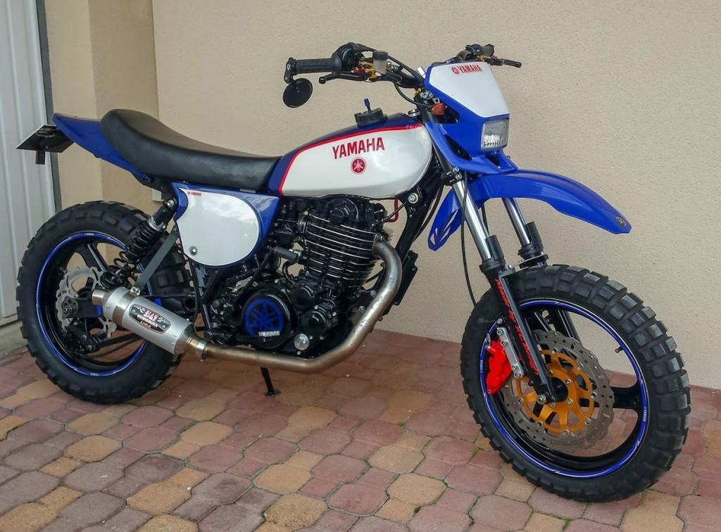 Yamaha XT500 Supermoto