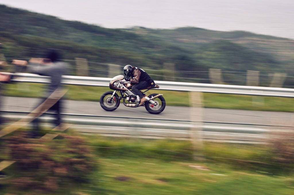 Aprilia RS125 Custom Cafe Racer