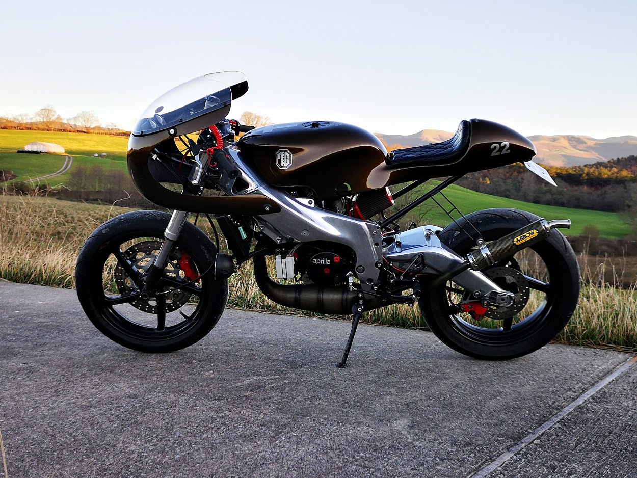 "La Mama: Aprilia ""RS154"" by AG Custom – BikeBound"