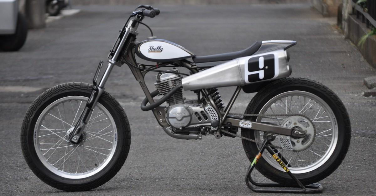 Big Fun Honda Xr100r Small Tracker Bikebound