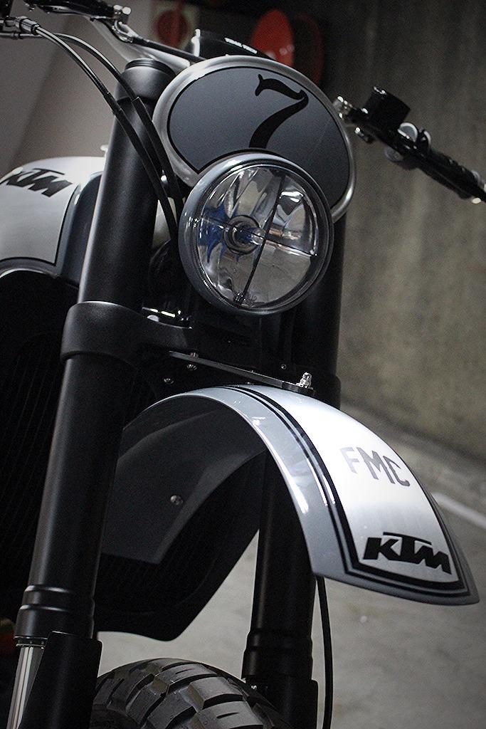 KTM 950 Street Tracker