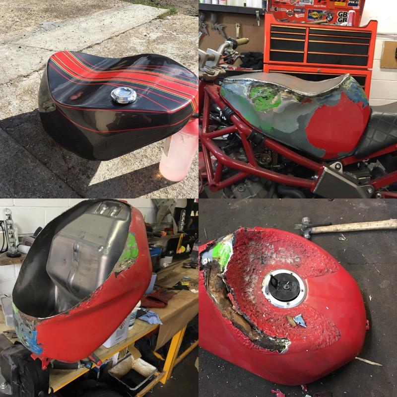 Kawasaki 636 Stunt Bike