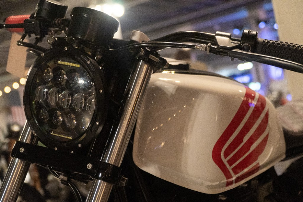 Honda CB650 Cafe Tracker