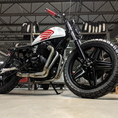 Honda CB650 Cafe Tracker