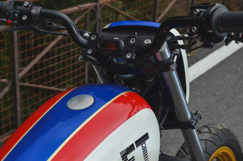 Honda FT500 Street Tracker
