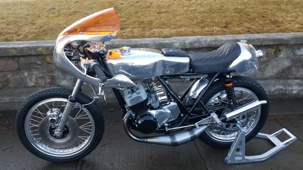 Kawasaki S2 Cafe Racer