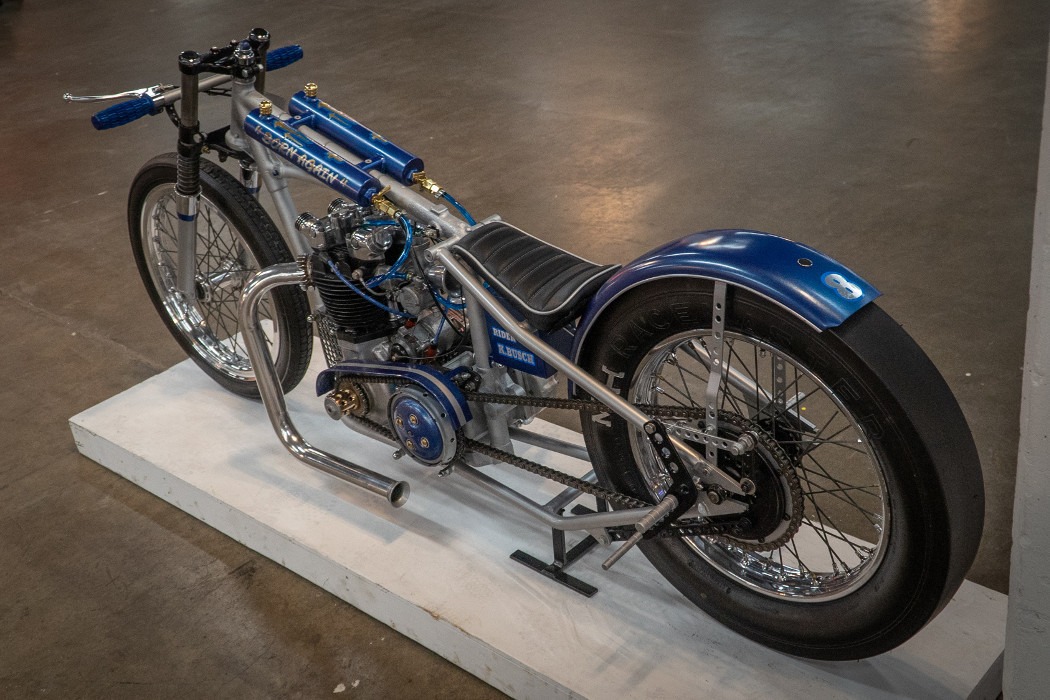 "1955 Triumph ""Born Again"" Drag Bike by K. Busch"