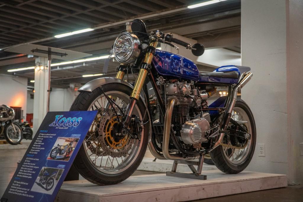 """1977 Yamaha XS650 """"Xcess"""""""