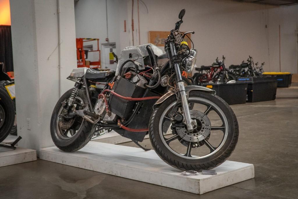 1980 Kawasaki KZ750H w/ EV Kit -- Darsay Godwin.