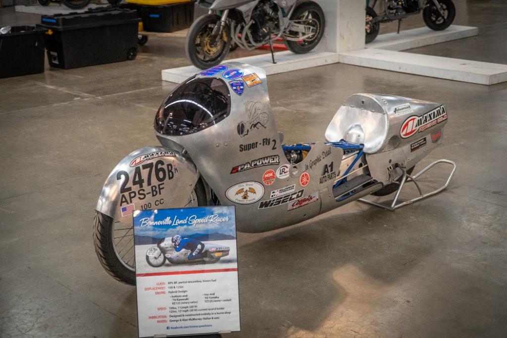 """Superfly"" Kawa / Yama Land Speed Racer by George McMurray."