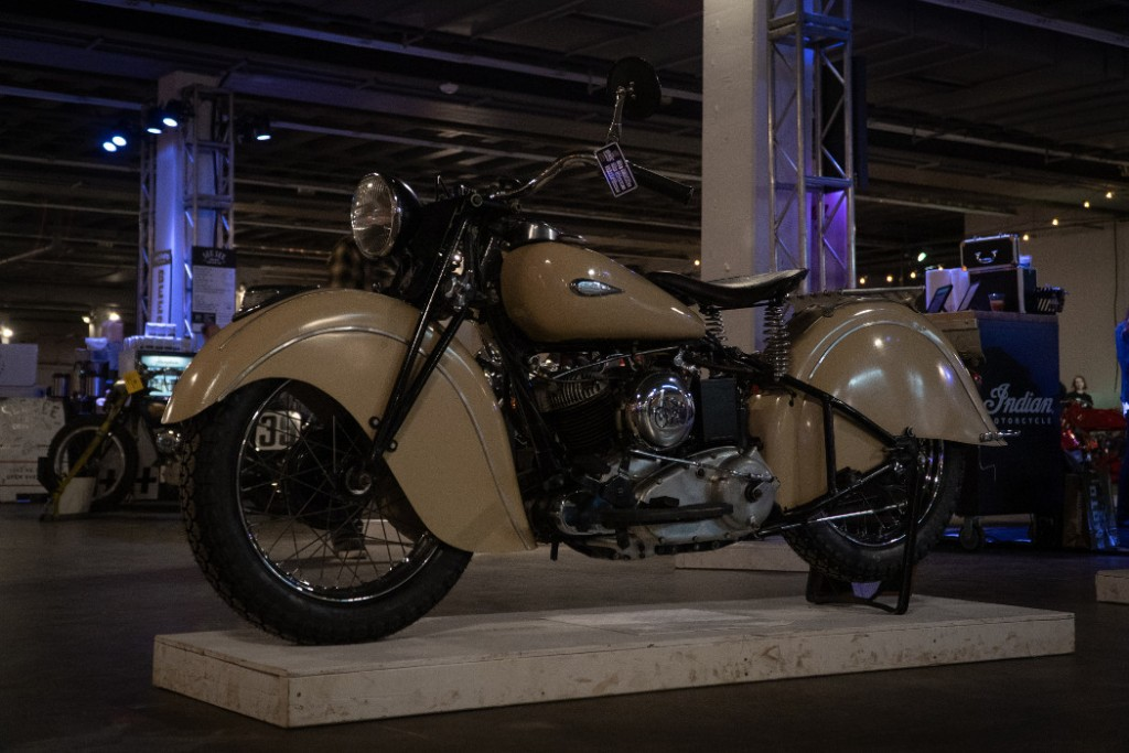 1940 Indian Sport Scout by T. Nathan.