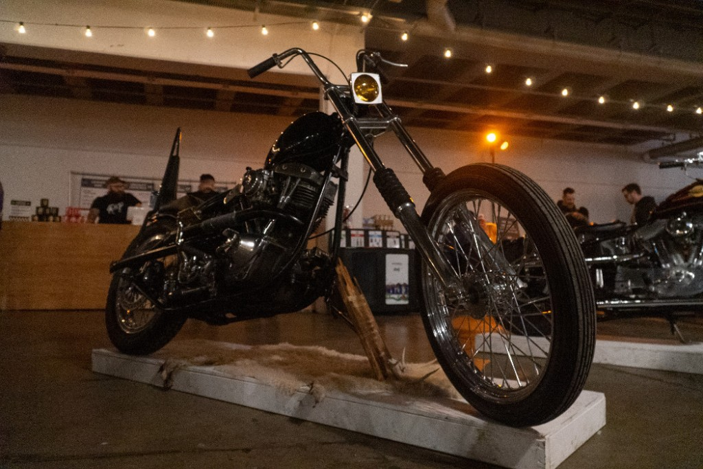 1978 H-D Shovelhead by Dirty Hands Garage.