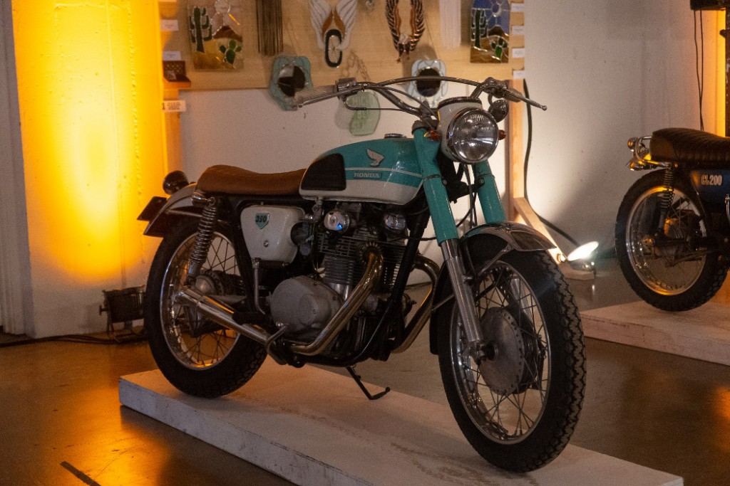 1969 Honda CB350 by Dirt First Garage.