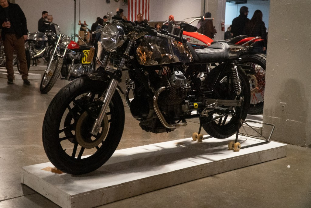 "1978 Moto Guzzi V50 ""Big Block Envy"" by Shirley P."