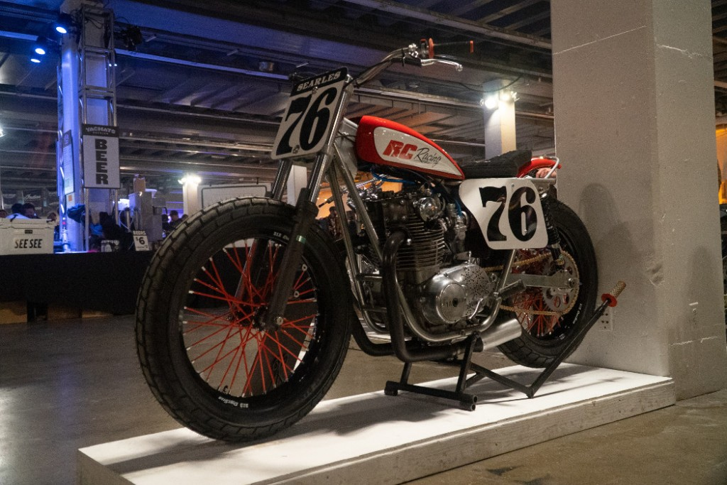 1976 Yamaha XS650 by Jerry Searles.
