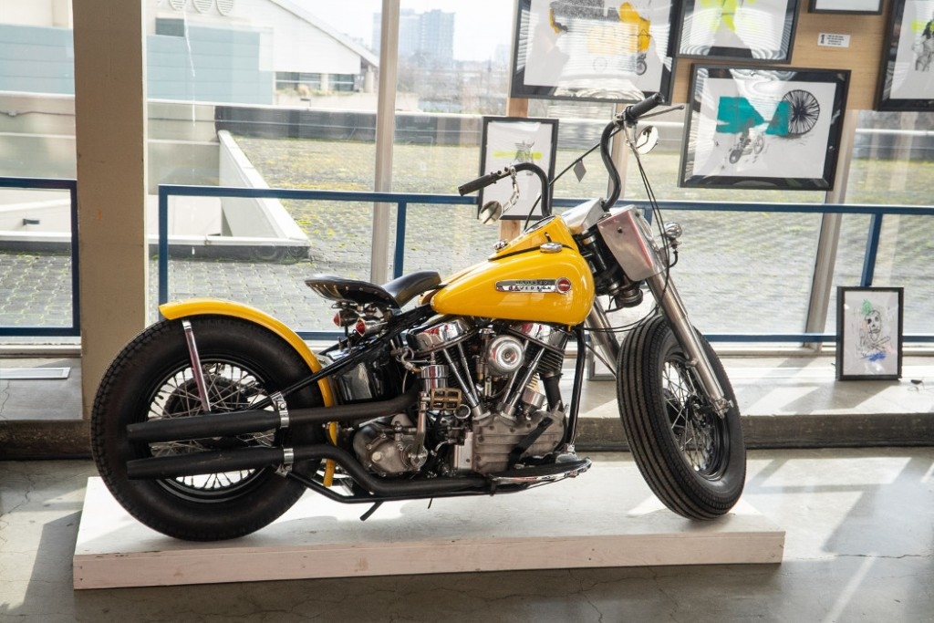 1953 H-D Panhead by Mark Carlson.