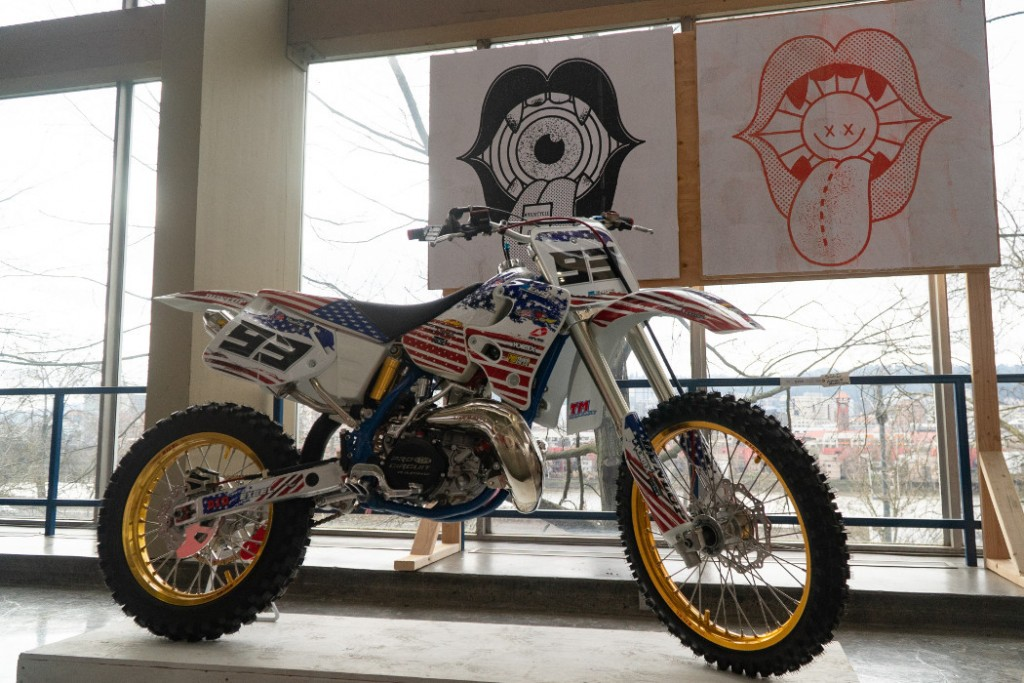 1993 Honda CR250 by Rick Newman.