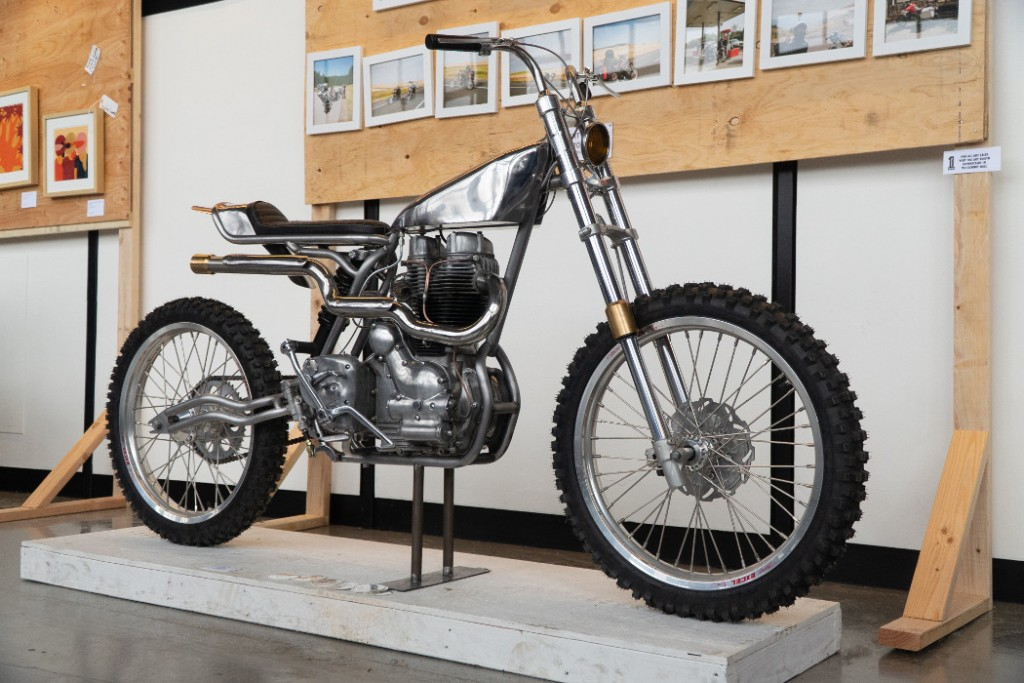 Royal Enfield Bullet 500 by Hill Hudson.
