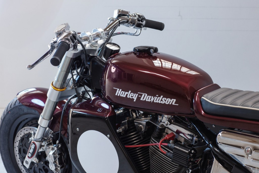 Harley Softail Cafe Racer
