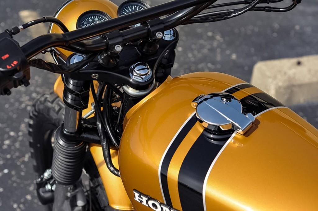 Honda CB350F Scrambler