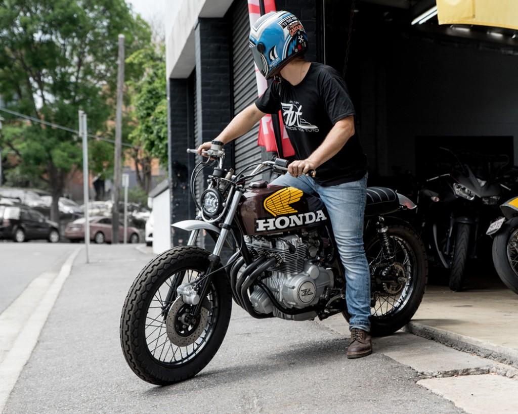 Honda CB400F Urban Scrambler