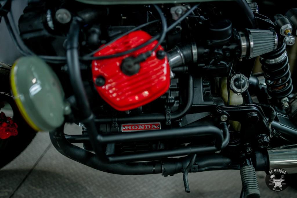 Honda CX500 Street Tracker