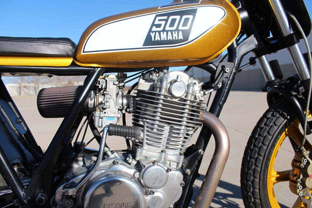Yamaha SR500 Street Tracker