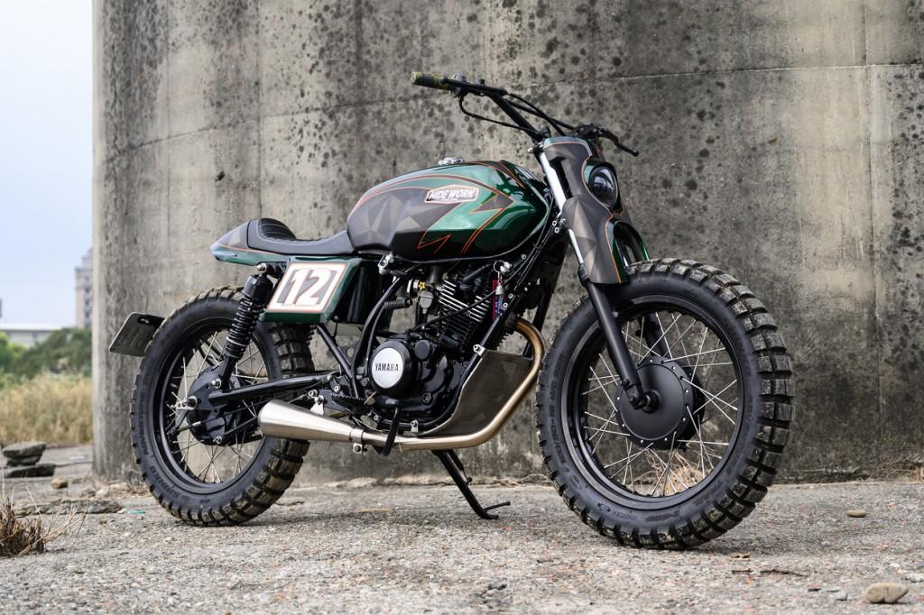 Green Hornet: Yamaha SR150 Street Tracker by Hide Work ...