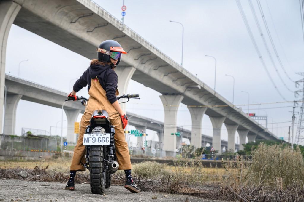 Yamaha SR150 Street Tracker