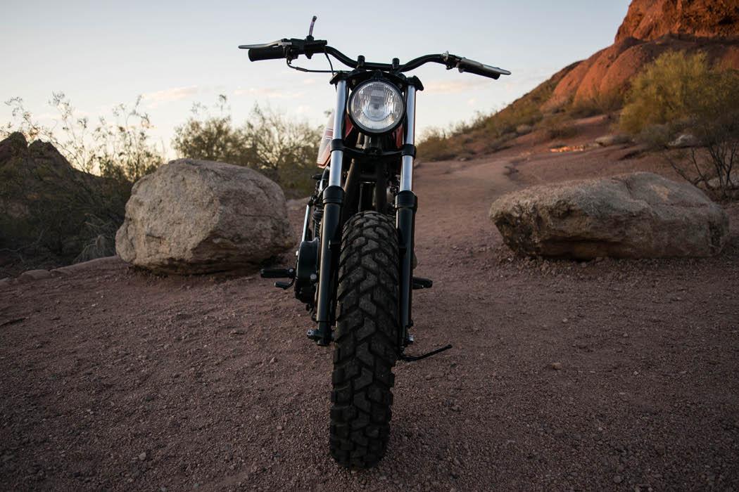 Yamaha XS650 Street Scrambler