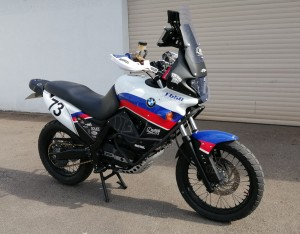 BMW F650 GS Funduro Rally Bike