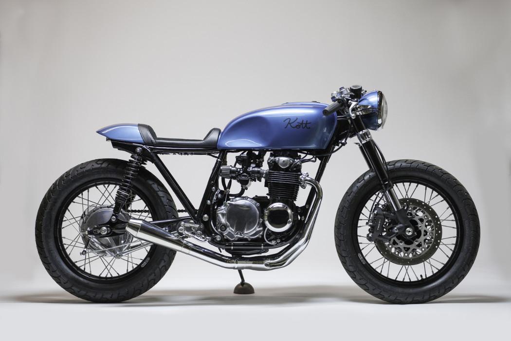 Jersey Honda Cb550 Cafe Racer By Kott Motorcycles Bikebound