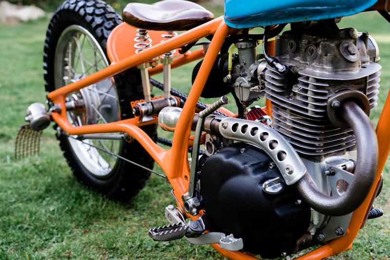 Honda XL175 Bobber
