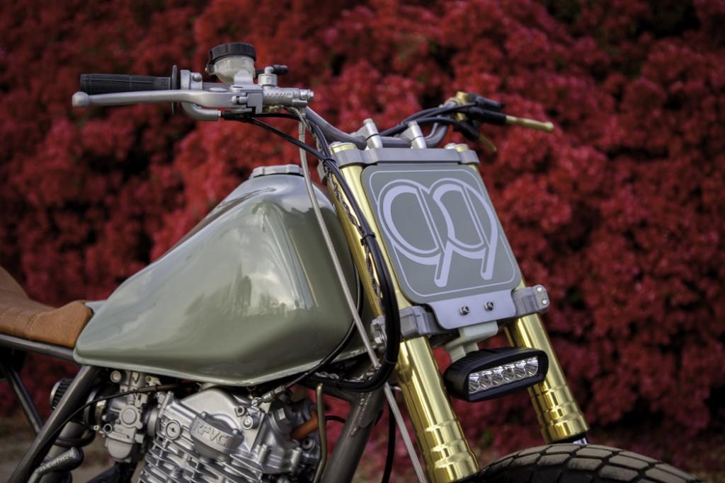 Honda XL600R Street Tracker