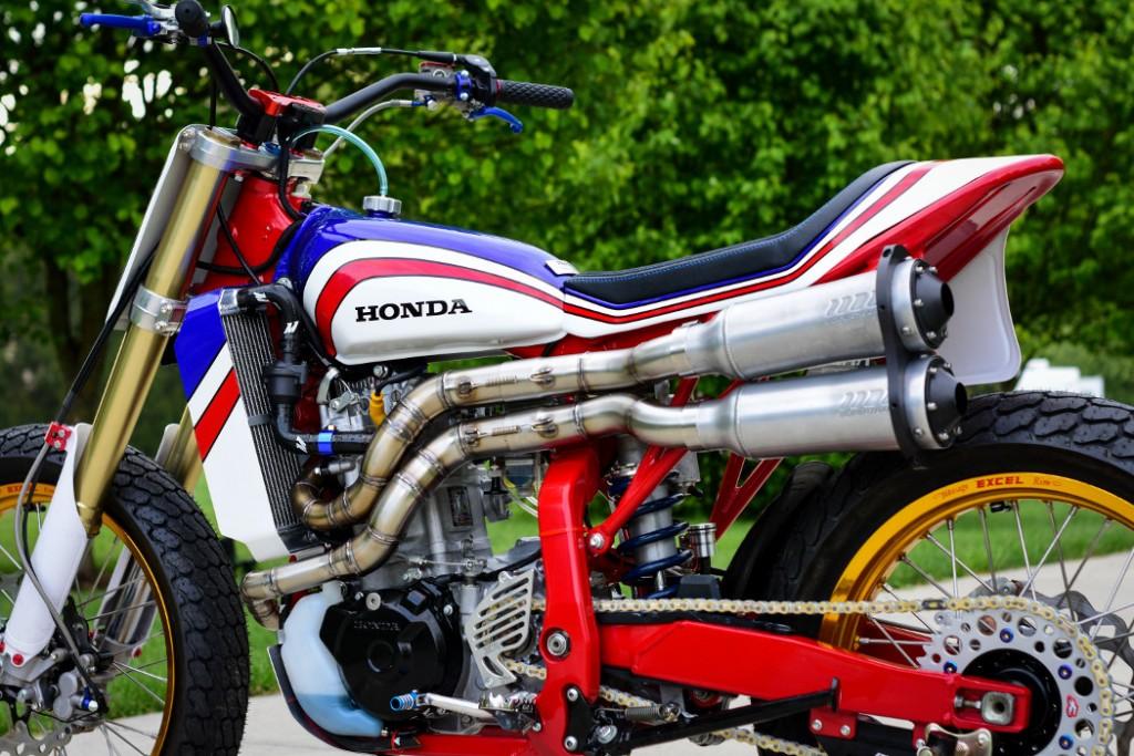 Honda XR650R Street Tracker